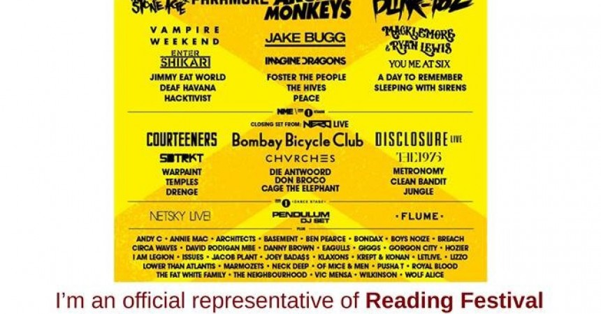 Buy Reading Tickets