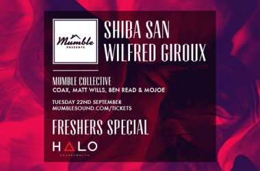Mumble Sound Presents Shiba San At Next Event