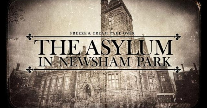 Cream & Freeze Present Asylum on Halloween 2015