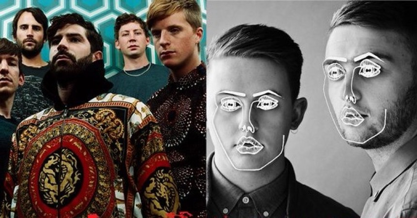 Foals and Disclosure to co-Headline Reading & Leeds