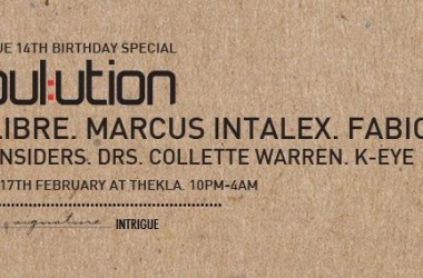 Intrigue Are Back For 14th Birthday Party In Bristol