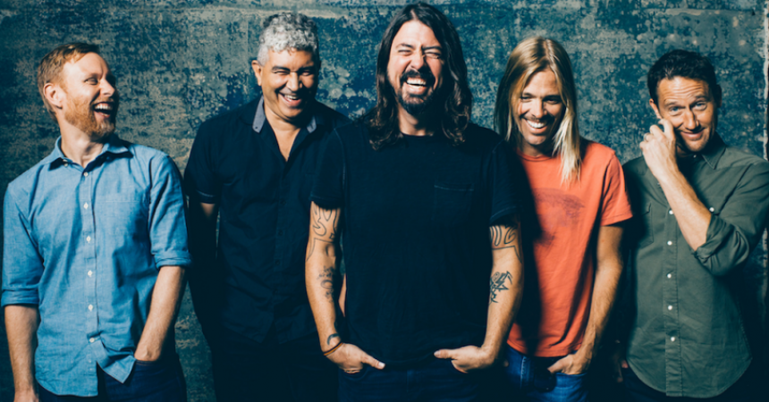 Foo Fighters Confirmed As Glastonbury 2017 Headliners