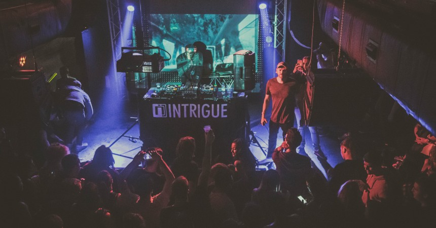 Intrigue's 14th Birthday at Thekla, Bristol